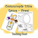 Cornucopia Dice GAme - Free to Print!