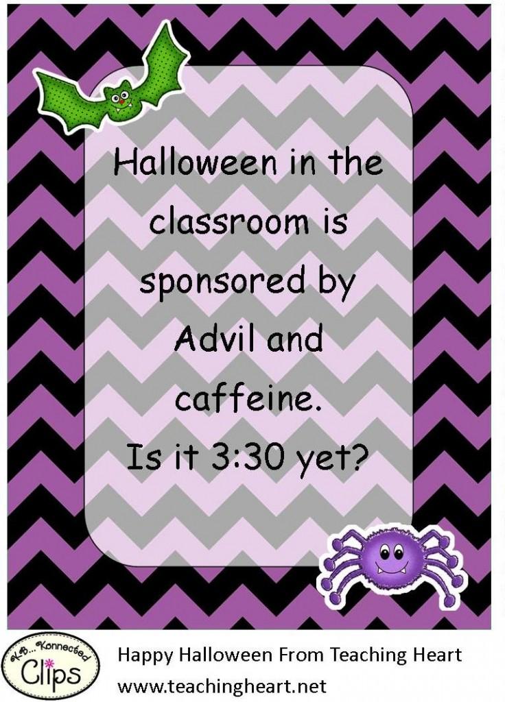 Teacher Halloween Quote