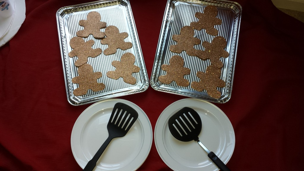 Gingerbread Cookie Relay Party Game - Homeroom Moms Come See!
