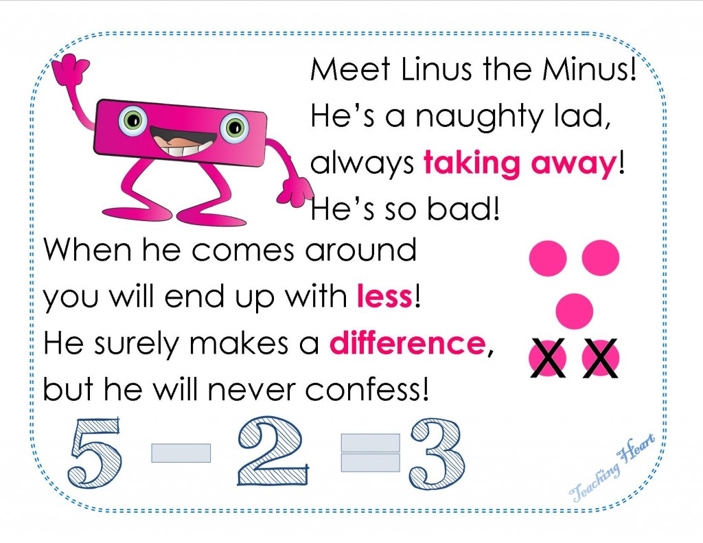 Linus the Minus Subtraction