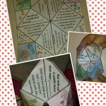 VAlentine's Day Themed Cootie Catcher
