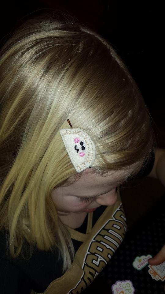 pierogie hair clips