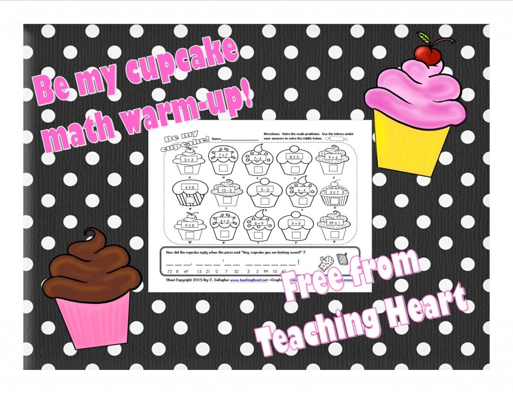 Cupcake Math for Grades 2 and 3