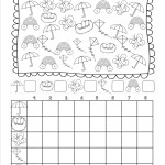 Spring Counting and Graphing Worksheet - Free