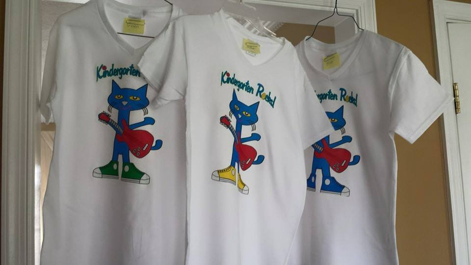 Pete the Cat - Kindergarten Rocks Shirts