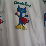 Kindergarten Rocks Colorful Cat Shirt
