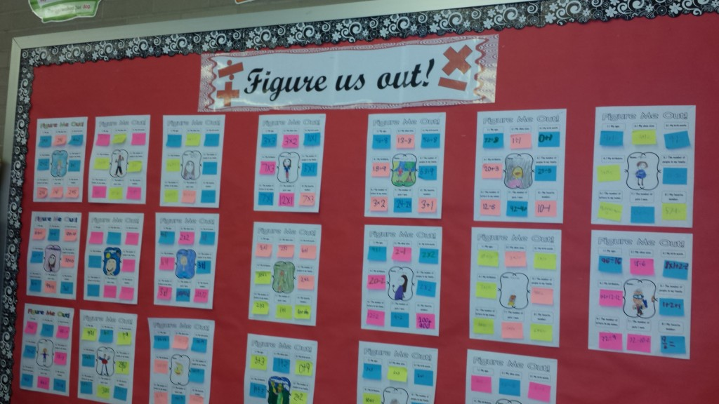 Figure Us Out Display - Teaching Heart!
