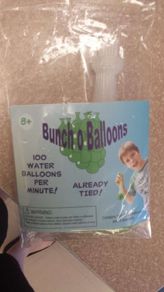 Water Balloon Time Saver