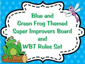 Super Improver Frog Themed Set