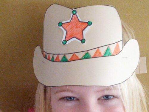 kindergarten lesson plans for cowboys